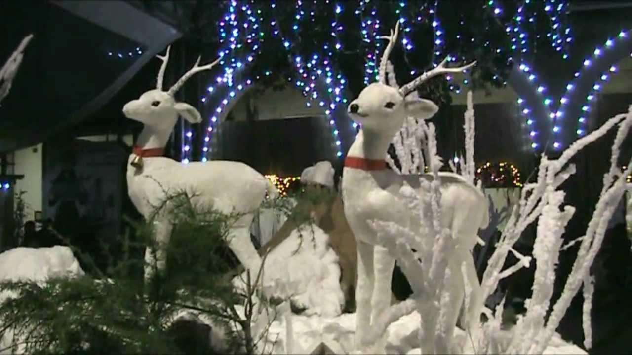 Villaggio Di Babbo Natale Cava Dei Tirreni.Presepe E Santa Claus