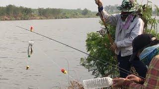 ตกปลากระบอกยกฝูง ด้วยขวดน้ำใบเดียว !!! //HD// จุ๊จุ๊ ออนทัวร์ EP:260