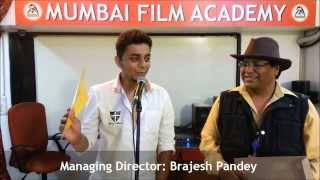 Certificate Awarded to Vikas Rajath for Music Direction, Music Production in Mumbai Film Academy