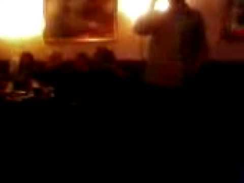 simon harris as James - sit down keith's klassic karaoke