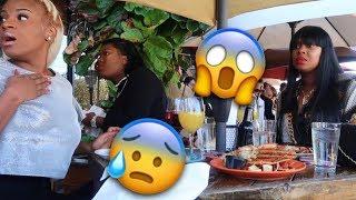 Vlog 7 Part 2: Someone is choking at the restaurant 😱!! || Shantae's Bday