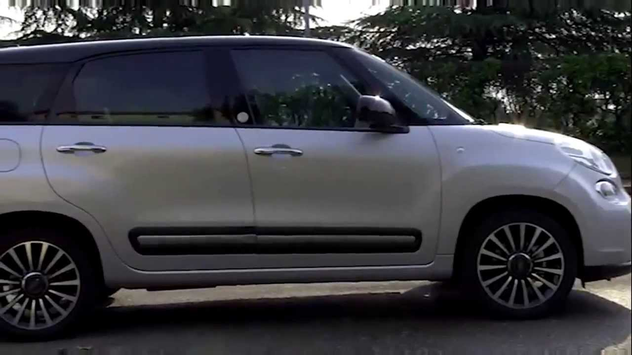 fiat 500l living youtube. Black Bedroom Furniture Sets. Home Design Ideas