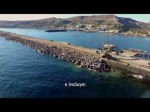 Miniatura de video Escollera y andador costero de Santa Rosalía