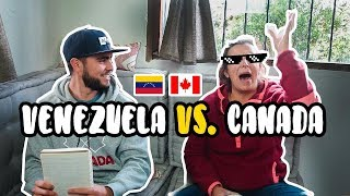 Canadiense hablando VENEZOLANO