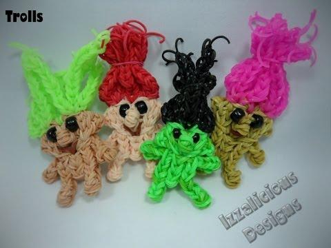 Rainbow Loom Troll   Rainbow Loom Zelf Doll   Action Figure Tutorial