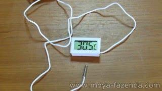 видео Термометр для инкубатора.  Моя РАЗРАБОТКА