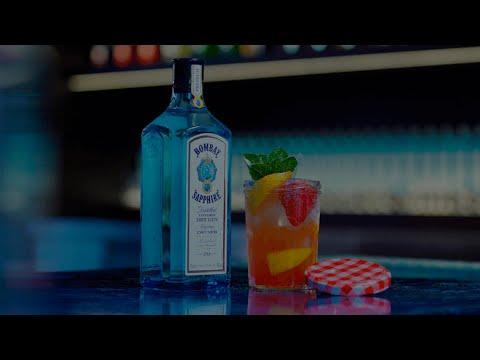 Positive Libations - Bombay Sapphire Cocktail