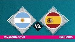 Argentinien - Spanien | Finale, FIBA-WM | MAGENTA SPORT