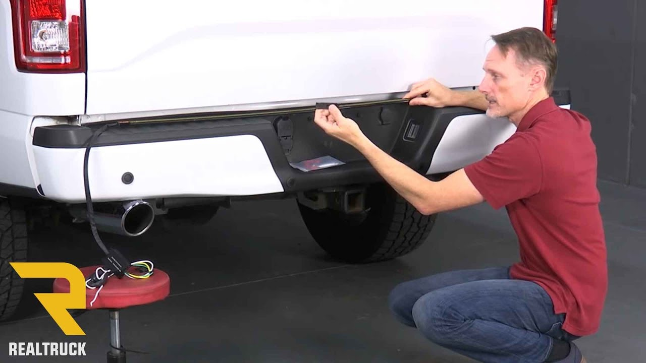How to Install Putco Blade LED Tailgate Light Bar  YouTube