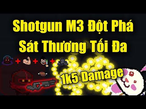 Shotgun M3 Đột Phá Sát Thương Tối Đa Trong Soul Knight