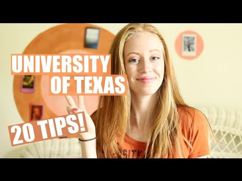 UNIVERSITY OF TEXAS Freshman Reflection + 20 TIPS | JustAli