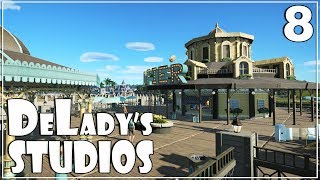 🎬 Let's build The Grand Pier | Vintage Pack & Give Away | DeLady's Studios | Planet Coaster | Ep. 8