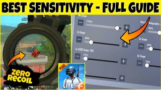 Best Sensitivity Setting PUBG Mobile Lite | Full Guide on PUBG Lite screenshot 5