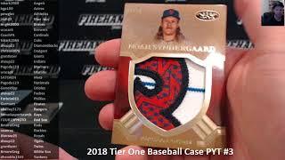 2018 Tier One Baseball Case PYT #3 ~ 5/23/18