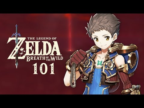 The Legend of Zelda: Breath of the Wild - Part 101 - Xenoblade Chronicles 2 Salvager Gear