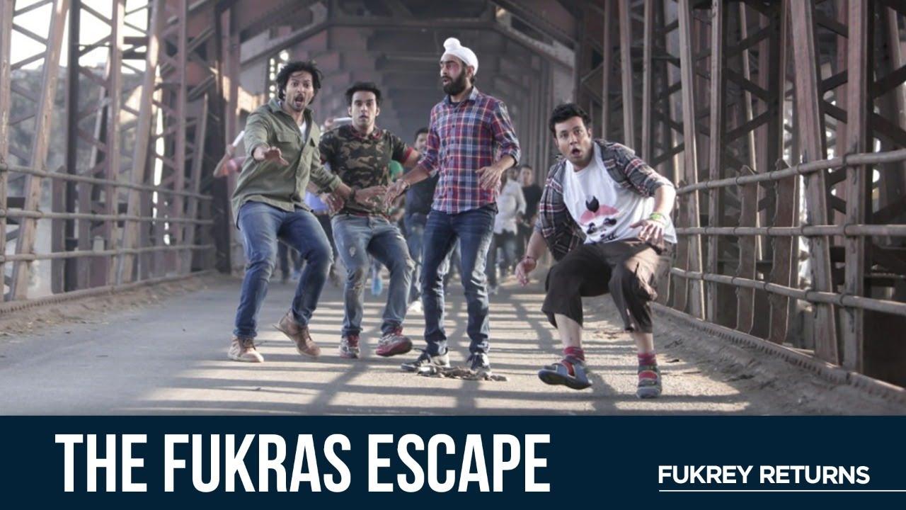 Download The Fukras Escape | Fukrey Returns | Pankaj T | Pulkit S | Varun S | Ali F | Manjot S