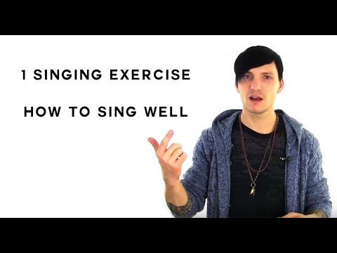 how to sing well 1 singing exercise to help you to sing well today youtube. Black Bedroom Furniture Sets. Home Design Ideas