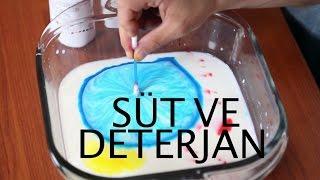 Süt ve Deterjan ile İlginç Bir Deney