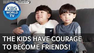 The kids have courage to become friends [Dogs are incredible/ENG/2020.04.14]