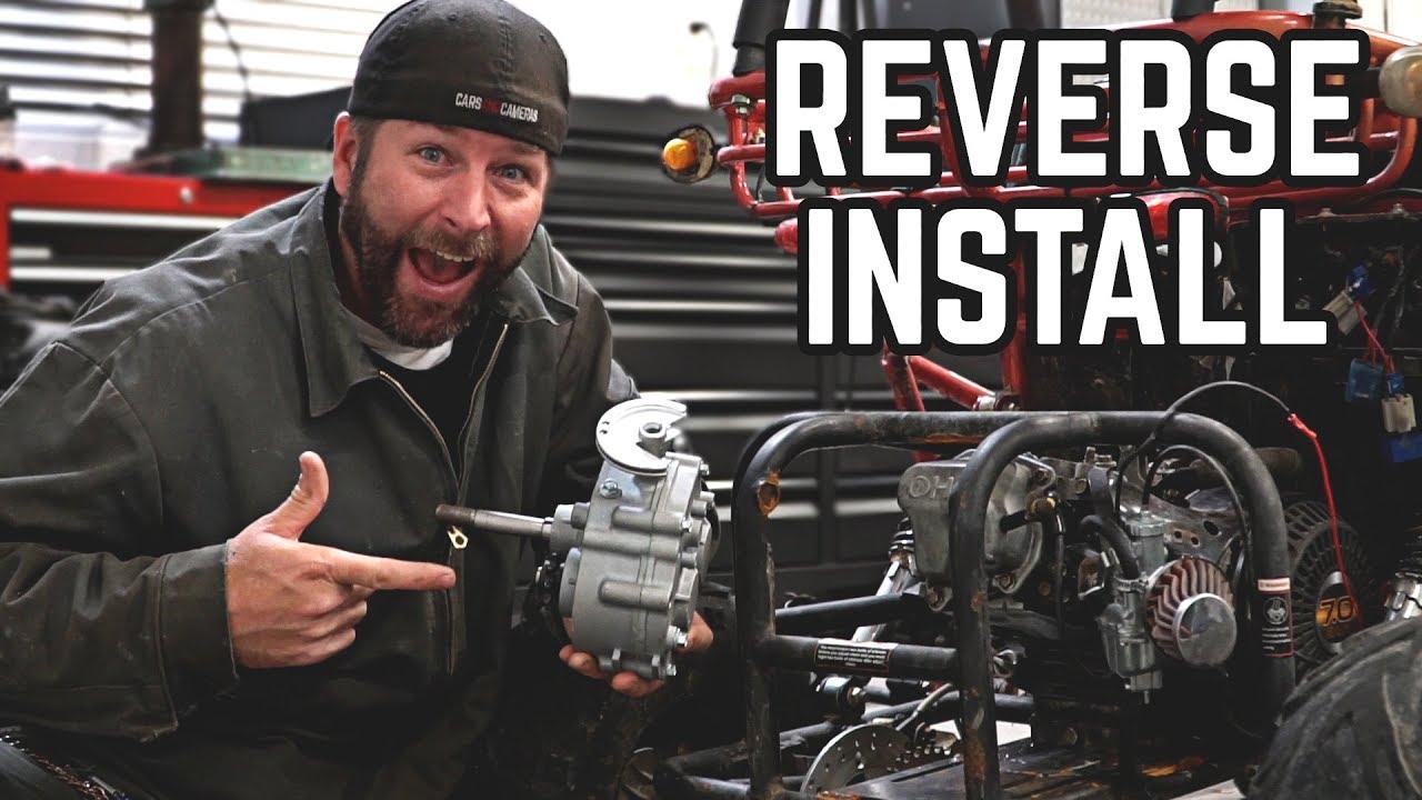 Go Kart Reverse Kit Install Pt 1