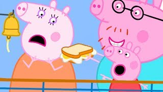 Peppa Pig Official Channel | Peppa Goes to Paris on a Ferry but Mummy Pig Doesn't Feel Well
