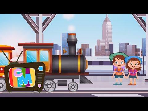 Trenuletul calator  – Clopotelul Magic – cantece pentru copii – Cantece pentru copii in limba romana