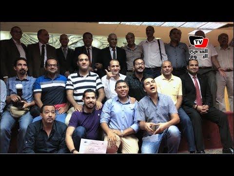 كواليس تكريم نقيب الصحفيين لـ«مصوري كأس العالم» بالنقابة