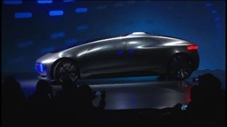 Mercedes Unveils Self-Driving Luxury Car in Las Vegas