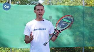 """С чего начинается теннис. Часть 1 - """"Выбор ракетки"""""""