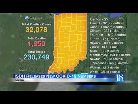 ISDH: 373 New COVID-19 Cases In Indiana