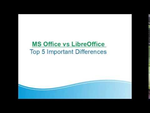 MS Office Vs LibreOffice Difference Explained