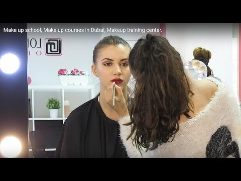 Make Up School Make Up Courses In Dubai Makeup Training Center Youtube