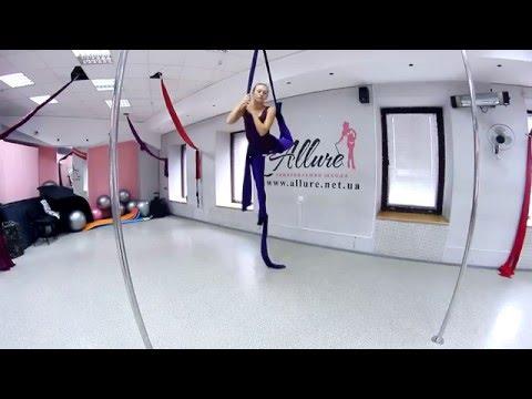 Воздушная акробатика видеоурок