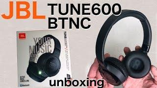 JBL TUNE600 BTNC wireless headphones - unboxing