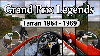 Grand Prix Legends - Ferrari Cockpit Evolution (1964 -1969)