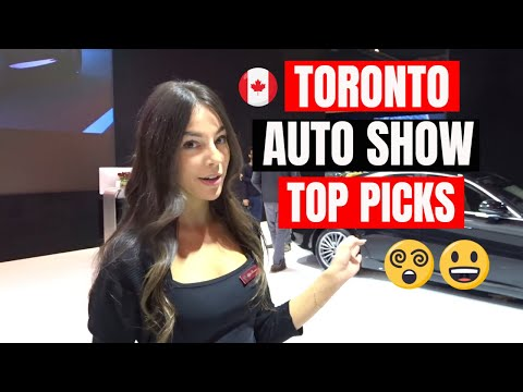 Toronto Auto Show 2018 - Top Picks & Highlights