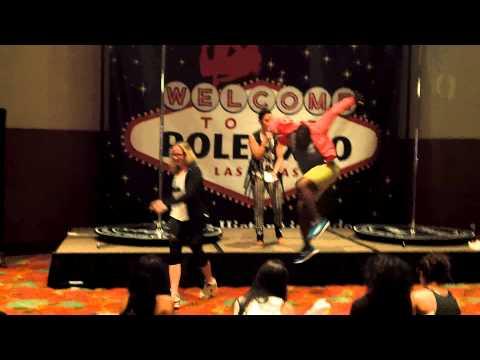 "Danielle Romano ""The Pole Actor"" @ Pole Expo 2014"