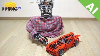 LEGO Mindstorm EV3 controls Lego with CAM (AI) by 뿡대디