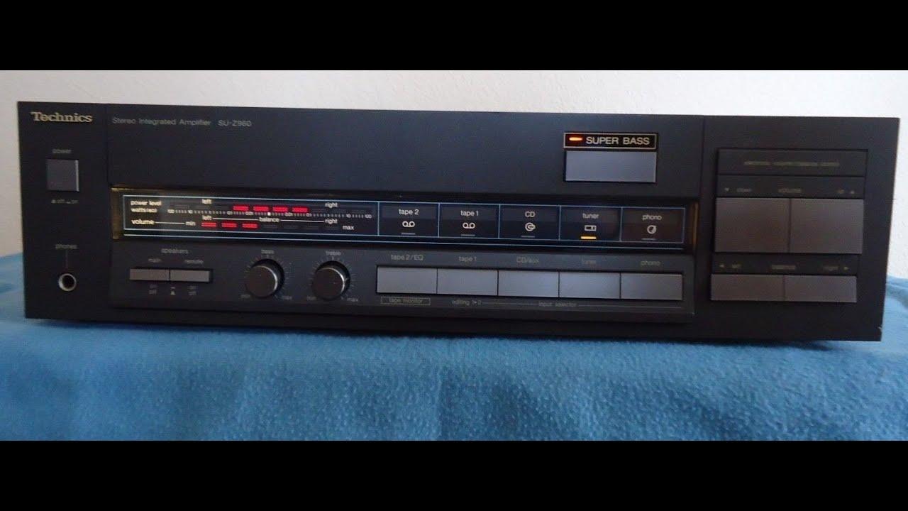 Technics SU-Z960 Stereo Amplifier ______(FG7527D 670)*