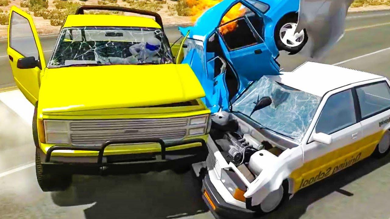 Мультики про машинки для мальчиков 4-5 лет про аварии ...