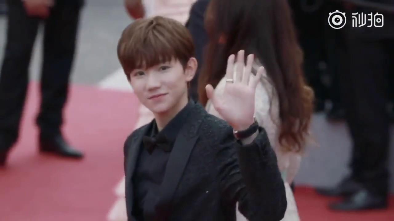 [TFBOYS- Vương Nguyên] Khí Chất Ngút Trời Tại Thảm Đỏ LHP Cannes