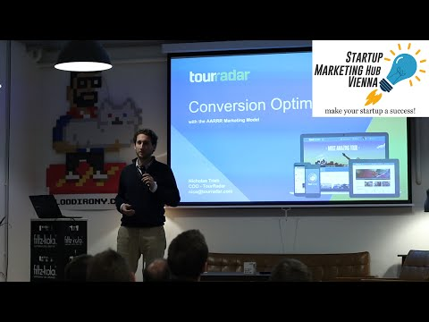 Conversion Optimization with the AARRR Marketing Model - Startup Marketing Hub Vienna