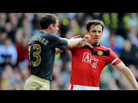 In The Picture Gary Neville and Jamie Carragher's memories from Manchester United vs Liverpool