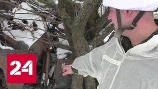 Смотреть видео Украинские военные обстреляли Докучаевск из минометов - Россия 24 онлайн