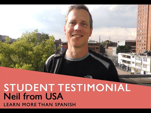 General Spanish Course Student Testimonial by Neil form USA