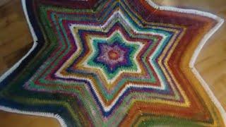 How To Crochet Christmas Tree Skirt