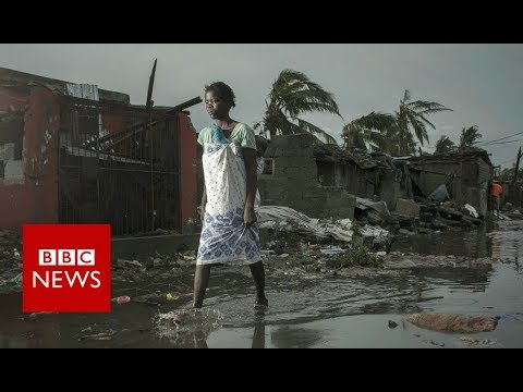 Survivors rescued from cyclone floods - BBC News