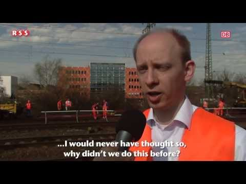 Interview Deutsche Bahn about RSS Railway Safety System