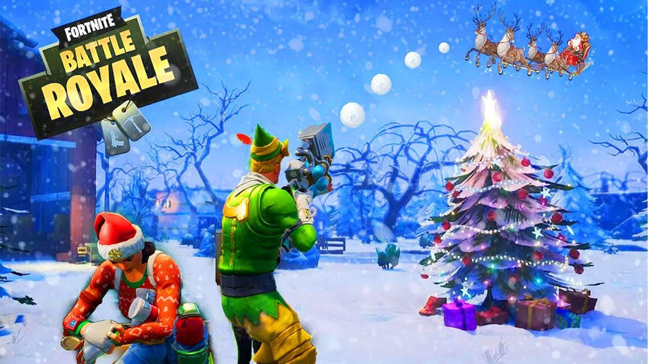 Christmas Fortnite Update 14 Days Of Fortnite Original Battlebus