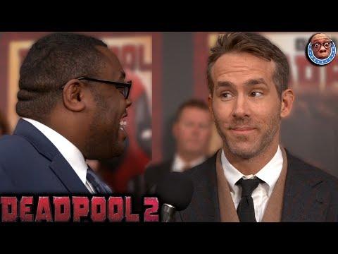 DEADPOOL 2 - Awkward Talks with Deadpool 2 Cast (Ryan Reynolds, Josh Brolin, Zazie Beetz)